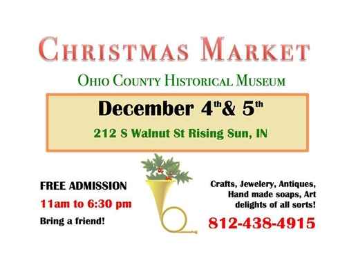 Christmas Market at the Ohio County Historical Museum